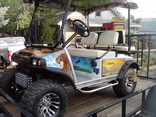 Personalize your Golf Cart! Be Unique!