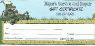 Our gift certificates make a great gift anytime of year!